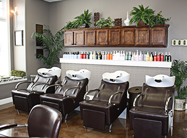 L Paradis Salon Hair Stations